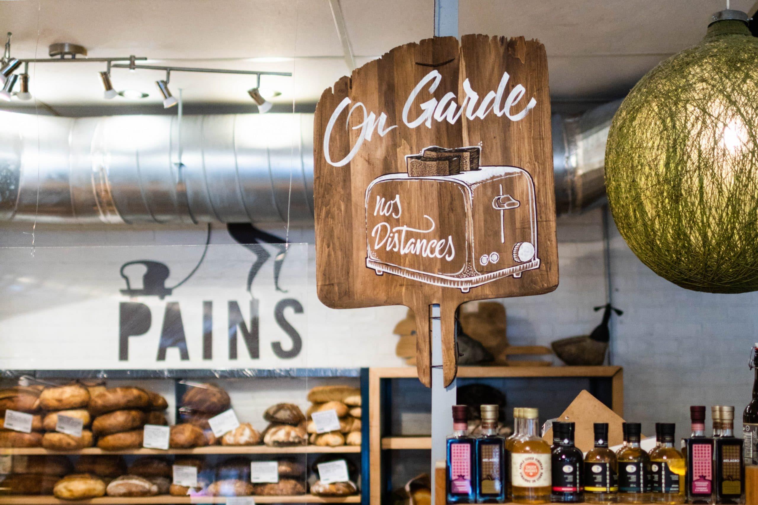 Boulangerie montréal, Arhoma boulangerie, boulangerie, covid, mesures sanitaires, pâtisserie montréal